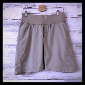 Gap Maternity Khakis Cotton Shorts Sz 4